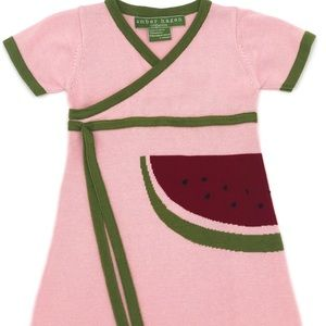 Amber Hagen Watermelon Kimono Dress